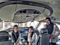 Brunei Kirim Pesawat Penumpang Berawak Semua-Wanita ke Arab Saudi