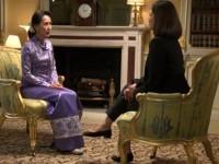 Diwawancarai Presenter Muslim, Suu Kyi Marah-Marah