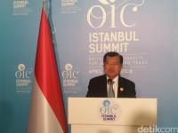 JK Sampaikan Kritik Pedas ke Negara-negara OKI