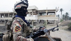 جهاز مكافحة الإرهاب في العراق يعلن تحرير معسكر هيت