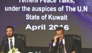 وفد الرياض يرفض اقتراح ولد الشيخ تثبيت وقف اطلاق النار