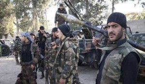 foto: ilustrasi/pasukan pemberontak di suriah