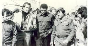 Muhammad Ali di kamp pengungsi Palestina