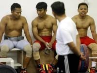 Begini Atlet Angkat Besi Siasati Latihan Saat Puasa