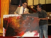 Pelukis Indonesia ini Meriahkah Kolaborasi Seni Budaya Indonesia-Colombia