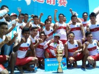 Tim Perahu Naga Indonesia Menang di China