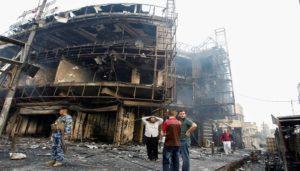 ارتفاع ضحايا تفجير الكرادة في بغداد إلى 80 قتيلا