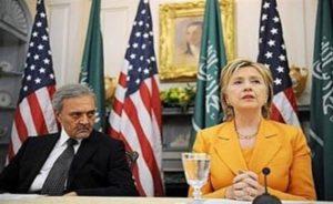 hillary clinton dan saudi