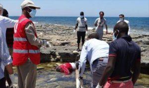 jenazah migran di libya