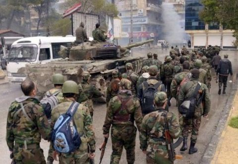 Pasukan Suriah Kuasai 60% Aleppo Timur