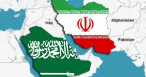 saudi-iran-map