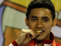 Achmad Hulaefi Raih Medali Emas Cabang Wushu di PON XIX