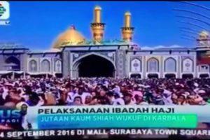 Ada Ibadah Haji Tandingan di Karbala Oleh Kaum Syiah, Benarkah?