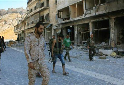 Tentara Suriah Hancurkan Terowongan Militan di Aleppo