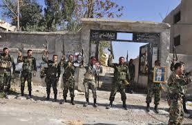 pasukan suriah di selatan aleppo