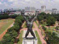 Jokowi, Sri Mulyani, dan Patung Perunggu