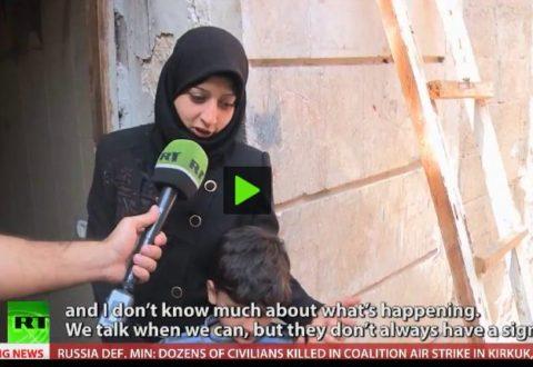 warga Aleppo barat yang 3 anaknya tertahan di Aleppo selatan