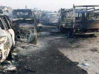 Konvoi ISIS Diterjang Serangan Udara, 20 Teroris Tewas