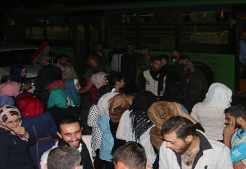 48 Orang Keluar Dari Aleppo Timur di Tengah Pertempuran