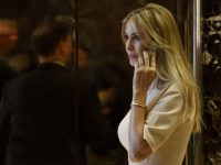 Ivanka Trump, daughter of President-elect Donald Trump, arrives at Trump Tower, Friday, Nov. 11, 2016, in New York. (AP Photo/ Evan Vucci)
