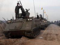 Kejutan Parade Tank Hizbullah di Suriah