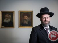 Rabbi David Lau (foto:maannews)