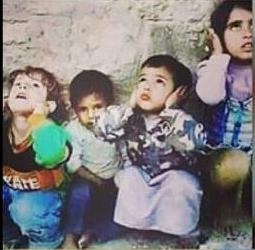 Foto yang disebut bocah Aleppo (sumber: akun FB Ridwan Kamil)