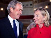 Clinton dan Bush Akan Hadiri Upacara Pelantikan Trump