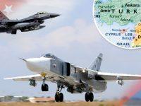 Jet Tempur Turki dan Rusia Bersatu Gempur ISIS di Suriah