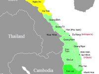 wilayah Champa yang kini telah menjadi Vietnam dan Kamboja dan sebagian wilayah Siam jatuh ke bangsa Thai dibantu Inggris yang kemudian mendirikan negara Thailand