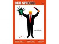 Gambar Trump di Sampul Der Spiegel Picu Kehebohan