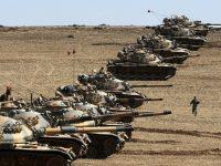 tank-tank Turki di Suriah