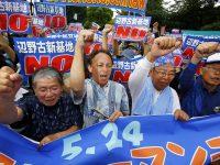 Polisi Jepang Sakiti Seorang Pengunjuk Rasa Cacat