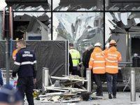 Bandara di Brussels pasca dibom 23/4/2016 (AFP)