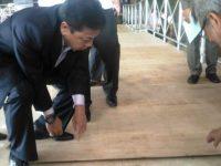 Ketua DPR RI Meninjau Persiapan Sambut Raja Salman