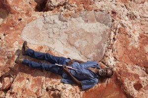 Jejak Kaki Terbesar Dinosaurus Ditemukan di Australia