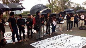 Berbagai Daerah Gelar Aksi Solidaritas untuk Patmi dan Petani Kendeng