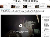 5 Media Besar AS Puji Serangan ke Suriah