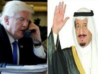 Raja Salman Puji Serangan Amerika ke Suriah