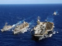 Reaksi Keras Korut Atas Kehadiran Kapal Perang AS