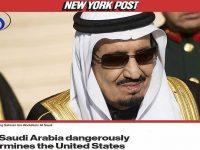 New York Post: Saudi Membahayakan Kepentingan Amerika