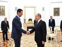 Assad: Rusia Tak Perlakukan Konflik  Suriah Sebagai Perang Komersial
