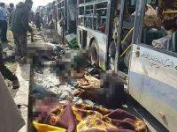 Rusia Nyatakan Barat Bertanggungjawab Atas Serangan Teror Bus Warga Sipil Suriah