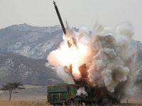 Korea Utara Disebut Bangun Pulau Buatan untuk Luncurkan Rudal