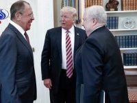 Foto-foto Trump dan Lavrov Picu Amarah Gedung Putih
