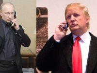 Trump, Putin Bicara via Telepon untuk Bahas Suriah dan Korut