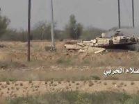 Militer Yaman Hanguskan Tank Arab Saudi di Jizan