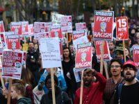 Demo Anti-Trump di AS, 2 Orang Ditangkap Polisi