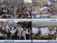 Ribuan Warga Yaman Lakukan Aksi Menentang Agresi Militer Saudi di Yaman