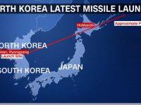 Korut Luncurkan Rudal Baru ke Utara Jepang